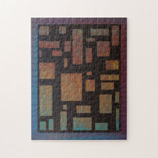 Colored Squares by Kari Sutyla Puzzle