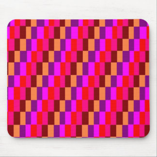 Colored Squares Mouse Pad