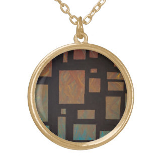 Colored Squares necklace