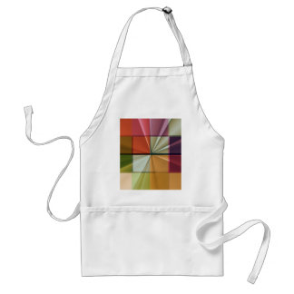 colored squares No 11 by Tutti Adult Apron