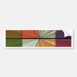 colored squares No 11 by Tutti Bumper Sticker
