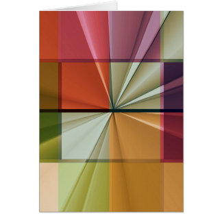 colored squares No 11 by Tutti Card
