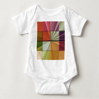 colored squares No 11 by Tutti Infant Creeper