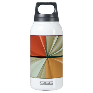 colored squares No 11 by Tutti Insulated Water Bottle