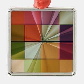 colored squares No 11 by Tutti Metal Ornament