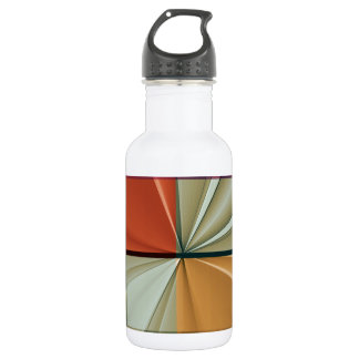 colored squares No 11 by Tutti Stainless Steel Water Bottle