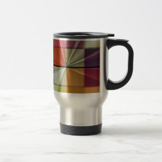 colored squares No 11 by Tutti Travel Mug