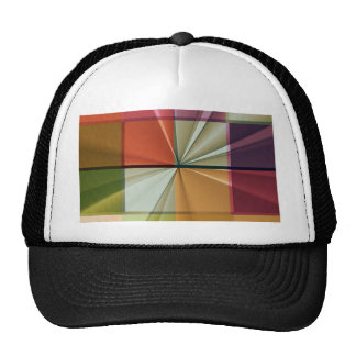 colored squares No 11 by Tutti Trucker Hat