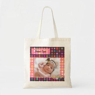 Colored Squares Photo Tote Bag