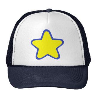 Colored Star Trucker Hat