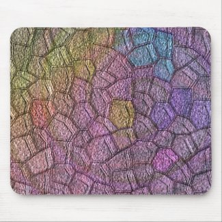 Colored stones mousepad