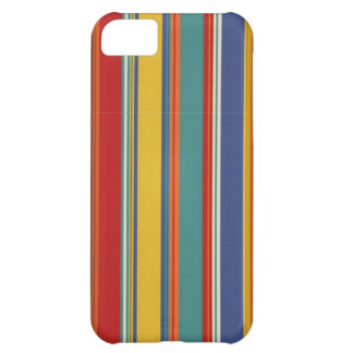 Colored Stripes Case For iPhone 5C