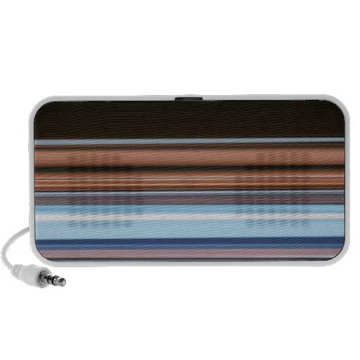 Colored Stripes Doodle Speakers