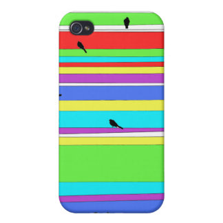 colored stripes iPhone 4/4S covers