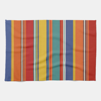 Colored Stripes Hand Towels