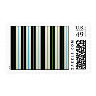 colored stripes Postage