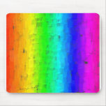 Colored Strokes Rainbow Mousepads