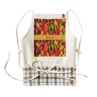 Colored Sweet Candy Zazzle HEART Apron
