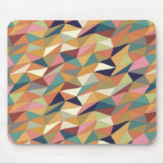 colored tangle in Puerto Madero Mouse Pad