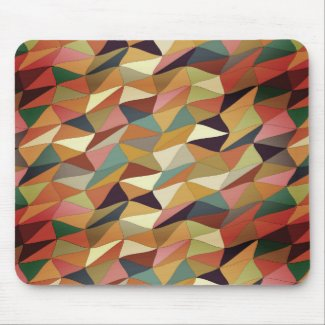 colored tangle in San Telmo Mouse Pad