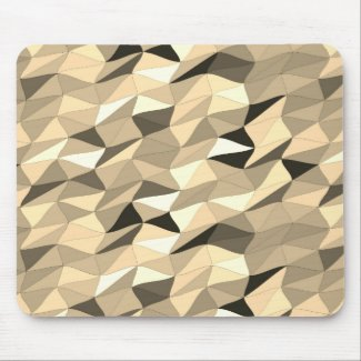 colored tangle in sepia mouse pad