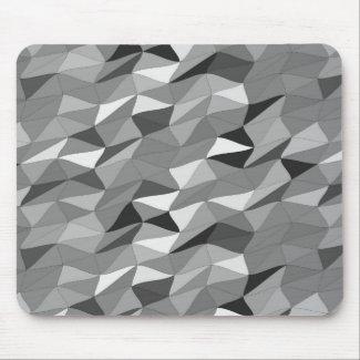 colored tangle monochrome mouse pad