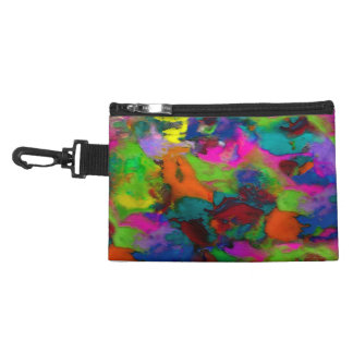 Colored Thoughts ~ Clip on Bag 2 Sides Accessory Bags