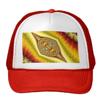 colored thoughts red trucker hat