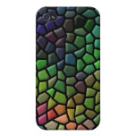 Colored Tiles Design for iPhone 4/4s iPhone 4 Cover