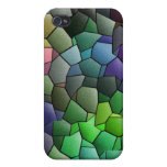 Colored Tiles iPhone 4/4s Case