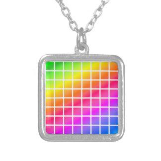 colored tiles pendants