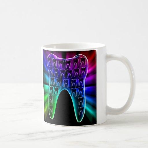 Colored Tooth Dentist Orthodontist Mug