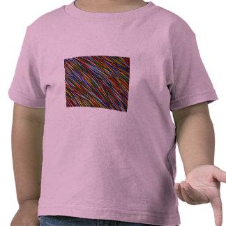 Colored toothpicks tee shirt