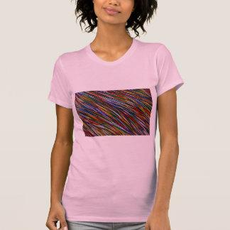 Colored toothpicks shirt