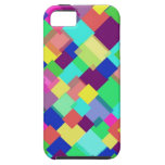 Colored Transparent Squares iPhone 5 Cover