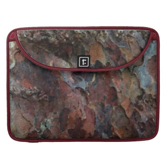 Colored Tree Bark Sleeve For MacBooks