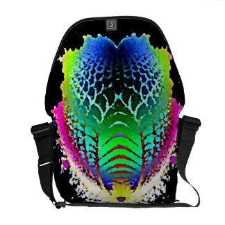 Colored Trilobite  Rickshaw Messenger Bag