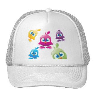 Colored Tweeters Hat