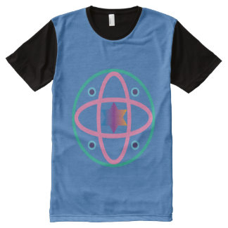Colored Universe All-Over-Print T-Shirt