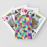 Colored Vanishing Squares Deck Of Cards