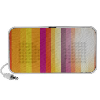 Colored Vertical Stripes Background Vector iPhone Speakers