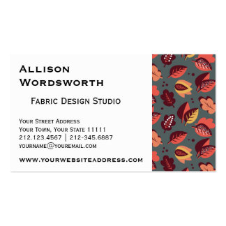 ColoredLeaves.png Double-Sided Standard Business Cards (Pack Of 100)