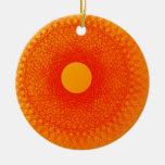 coloree el arte abstracto de los happines anaranja ornamentos de reyes magos