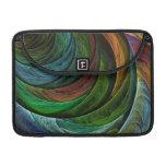Coloree el arte abstracto Macbook de la gloria fav Funda Para Macbooks
