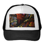 Coloree el gorra del arte abstracto de la armonía