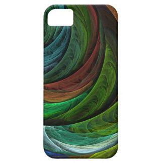 Coloree el iPhone 5 del arte abstracto de la glori iPhone 5 Cárcasa
