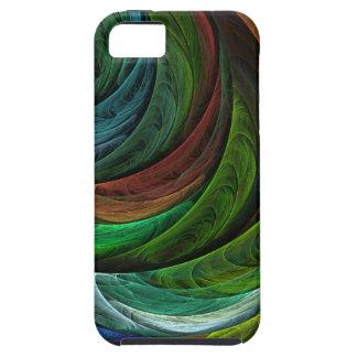Coloree el iPhone 5 del arte abstracto de la glori iPhone 5 Protectores