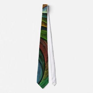 Coloree el lazo del arte abstracto de la gloria corbata personalizada