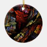 Coloree el ornamento redondo del arte abstracto de adorno