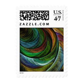 Coloree el sello abstracto de la gloria